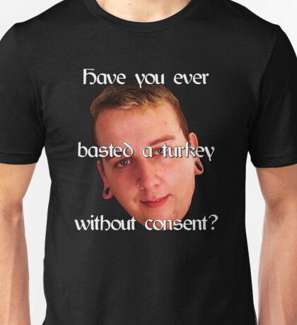 Basting a Turkey Unisex T-Shirt