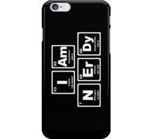I Am Nerdy - Periodic Table iPhone Case/Skin
