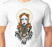 QHRIST HAS RISEN Unisex T-Shirt