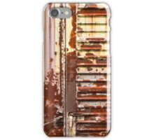 Rusty Old Train Texture iPhone Case/Skin