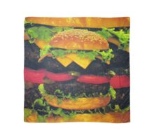 Double Deluxe Hamburger with Cheese Scarf