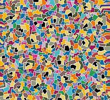 Mosaic Pattern 4 by YoPedro