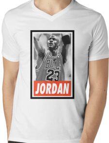 -SPORT- Michael Jordan  Mens V-Neck T-Shirt