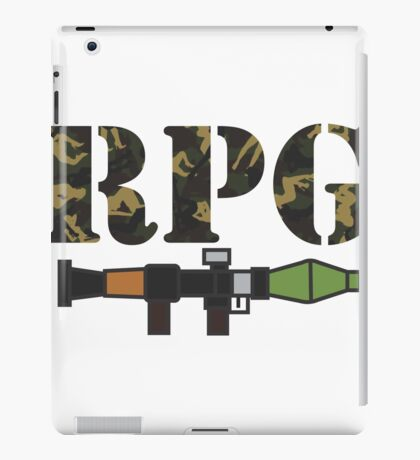 rpg iPad Case/Skin