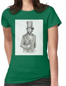 Bill The Butcher Mcinnes Womens Fitted T-Shirt