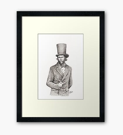 Bill The Butcher Mcinnes Framed Print