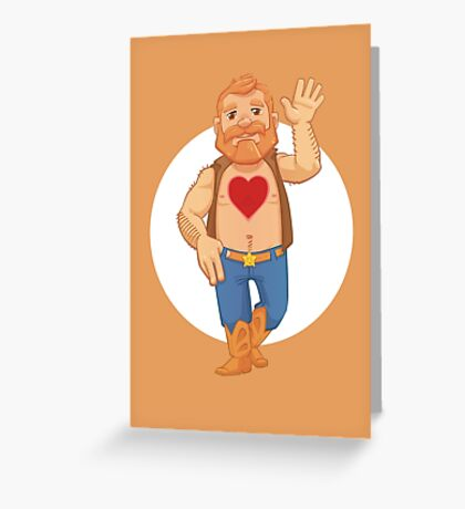 Tenderheart Bear Greeting Card