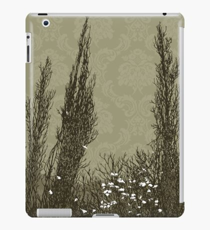 Cypress Trees: olive iPad Case/Skin
