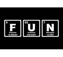 Fun - Periodic Table Photographic Print