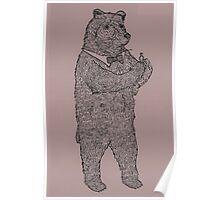 Ring Bear Poster