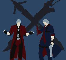 Dante & Nero by paulaxd