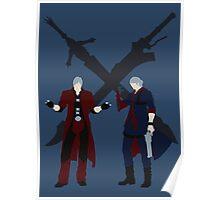 Dante & Nero Poster
