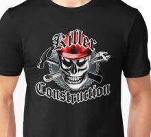 Construction Skull: Killer Construction Red 4.1 Unisex T-Shirt