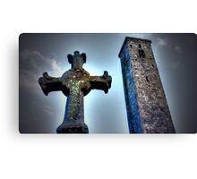 St Andrews Cross Canvas Print
