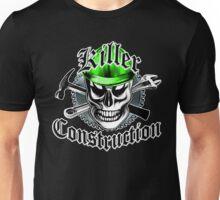 Construction Skull: Killer Construction Yellow 4.1 Unisex T-Shirt