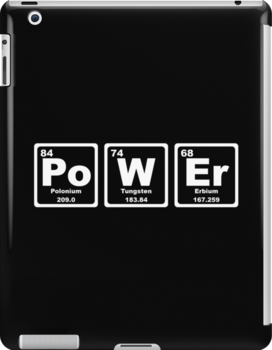 Power - Periodic Table by graphix
