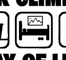 Rock Climbing Way Of Life Sticker
