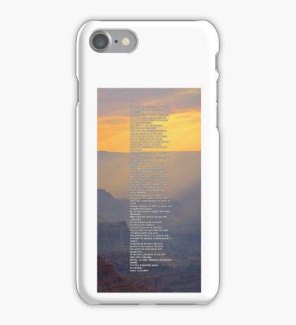Max Ehrmann Desiderata iPhone Case/Skin