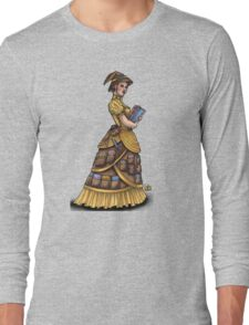 Library Witch by Bobbie Berendson W Long Sleeve T-Shirt