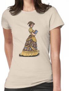Library Witch by Bobbie Berendson W Womens Fitted T-Shirt