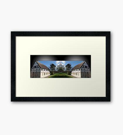 York Hospitium double take Framed Print