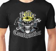 Construction Skull: Killer Construction Yellow 1.1 Unisex T-Shirt