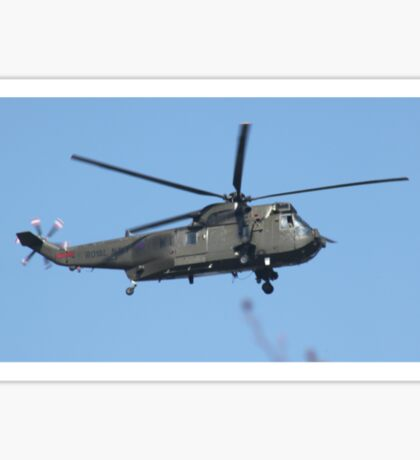 Royal Navy Helicopter. Sticker