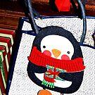 Penguin gift decoration by ♥⊱ B. Randi Bailey