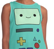 BMO, Adventure Time Fan Art Contrast Tank