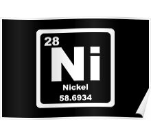 Ni - Periodic Table Poster