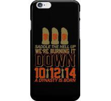 The Saddle Up iPhone Case/Skin