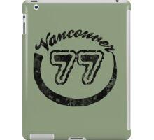 Vancouver 77 iPad Case/Skin