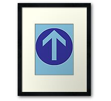 Mod Arrow Framed Print