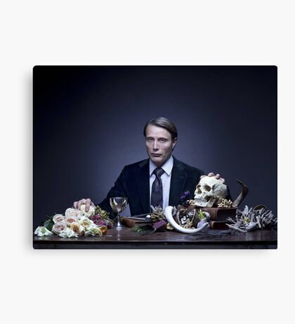 Mads Mikkelsen - HANNIBAL (TV SHOW) Canvas Print