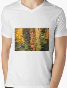Autumn Colors Mens V-Neck T-Shirt