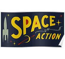 Wilde & Sweet - Space Action! Poster