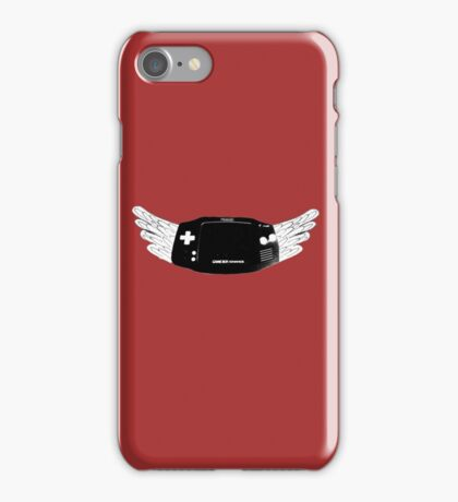 Winged Gameboy Advance iPhone Case/Skin