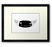Winged Gameboy Advance Framed Print