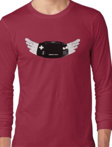 Winged Gameboy Advance Long Sleeve T-Shirt
