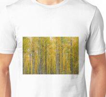 Yellow Birch Forest Unisex T-Shirt
