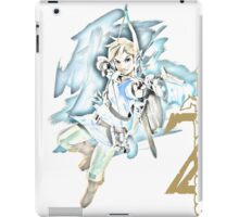 Link Breath of the Wild Bow Watercolor iPad Case/Skin