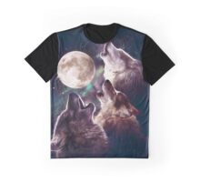 Howling Trio Graphic T-Shirt