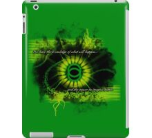 Power To Imagine iPad Case/Skin