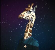 Enterprising Giraffe by spacegiraffes