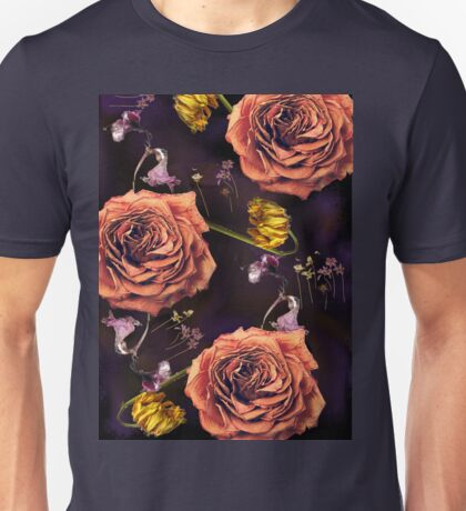 Dead flowers/ Death and Love Unisex T-Shirt