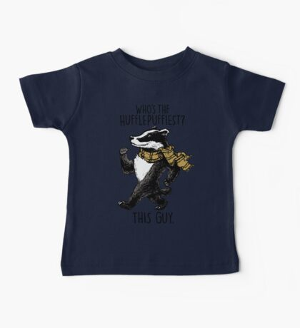The Hufflepuffiest Baby Tee