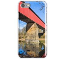 Indiana's Williams Covered Bridge iPhone Case/Skin