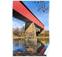 Indiana's Williams Covered Bridge Poster
