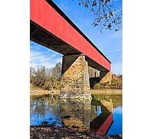 Indiana's Williams Covered Bridge Photographic Print