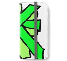 Put a bow on it - greens iPhone Wallet/Case/Skin